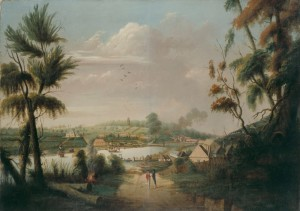 A direct north general view of Sydney Cove ... 1794