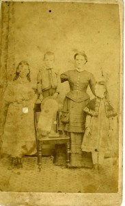 Copy of Sara Conroy 13 yrs, Tom 6 yrs, Mary Jane Wilson, Lily 8 yrs adjust