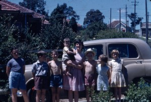 Lane Cove Gang Dec 1955